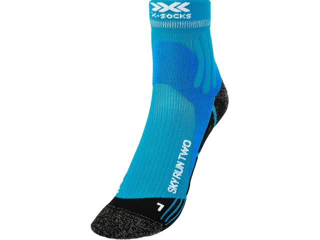 X-Socks Sky Run Two Calcetines Hombre, azul